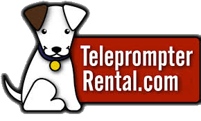 Logo - TeleprompterRental.com - doggie