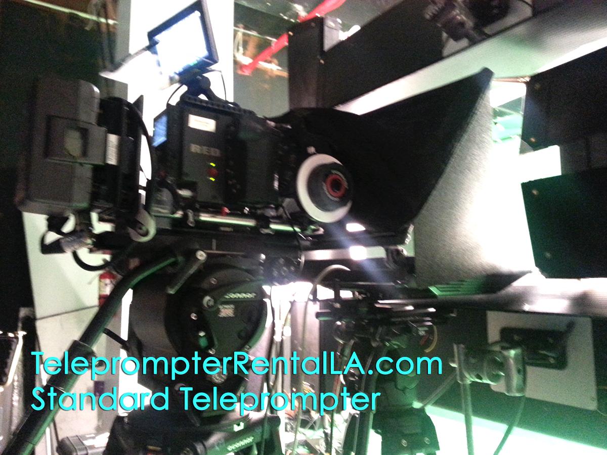 Teleprompter & Interrotron Rental LA