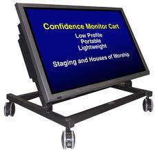 Confidence Monitor - text on screen