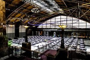 Pennsylvania, convention, center, centre, interior, grand, hall, room, teleprompter, interrotron