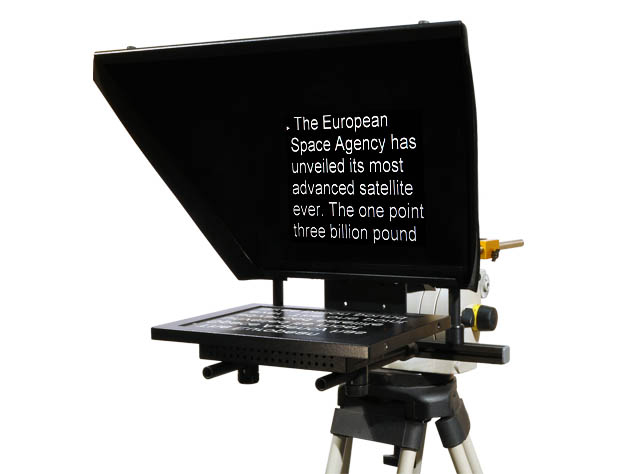 Teleprompter unit - copy on screen