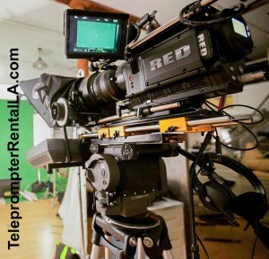 Red Camera on Teleprompterr