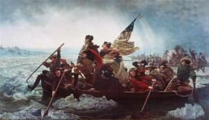 G. Washington Crossing the Delaware - Battle of Trenton