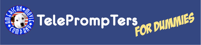 Title Header for Teleprompters for Dummies