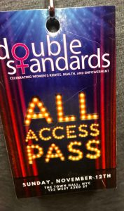 Double Standards - All Access Pass