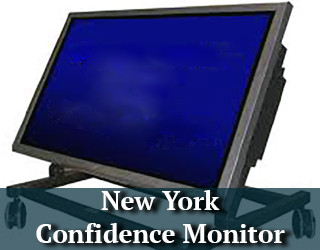 New York Confidence Monitor - screen facing left