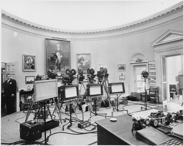 From Greeks to Obama: A History of  Teleprompting and Teleprompters