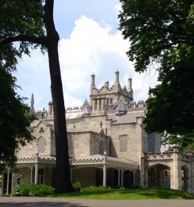 Lyndhurst Mansion in Tarrytown, NY