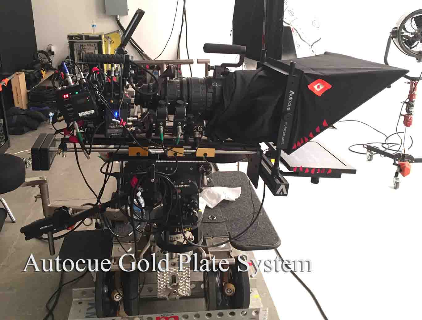 Autocue Gold Plate System