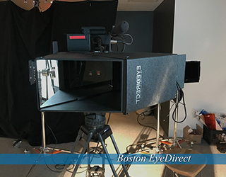 Boston EyeDirect setup in studio