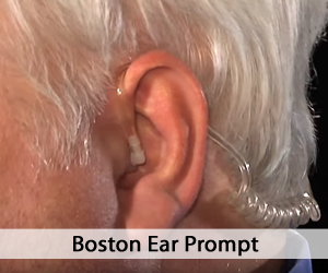 Close up of man's ear - Boston Ear Prompt