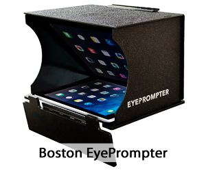 Boston EyePrompter unit