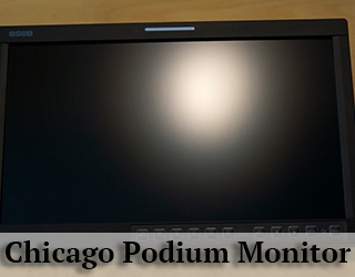 Podium Monitor - Chicago