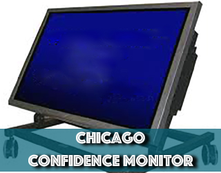 Confidence Monitor unit on stand - Chicago