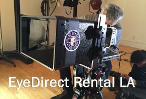 EyeDirect Rental LA TeleprompterRental.com