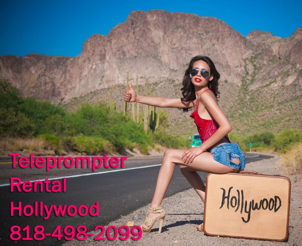 Teleprompter Rental Hollywood TeleprompterRental.com