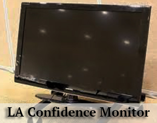 Confidence Monitor LA - black screen