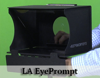 EyePrompt - LA - green screen behind it