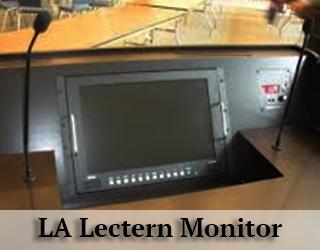Lectern Monitor LA - aka Podium Prompter