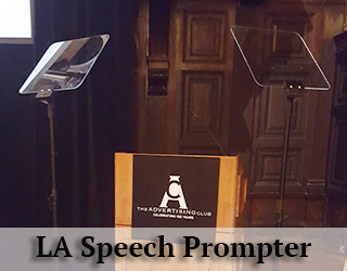 Presidential Teleprompter and podium aka Speech Prompter