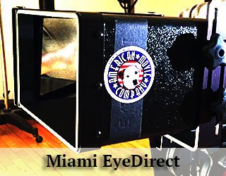 Miami EyeDirect - AMC logo on it