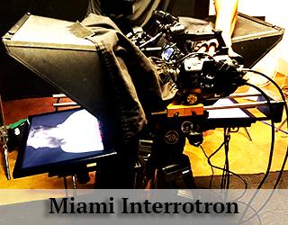 Miami Interrotron setup