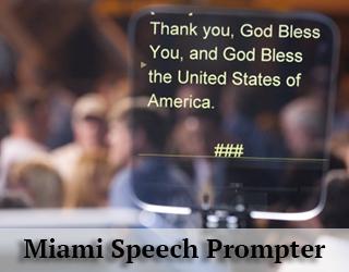 Miami Speech Prompter
