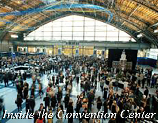 Inside the Convention Center