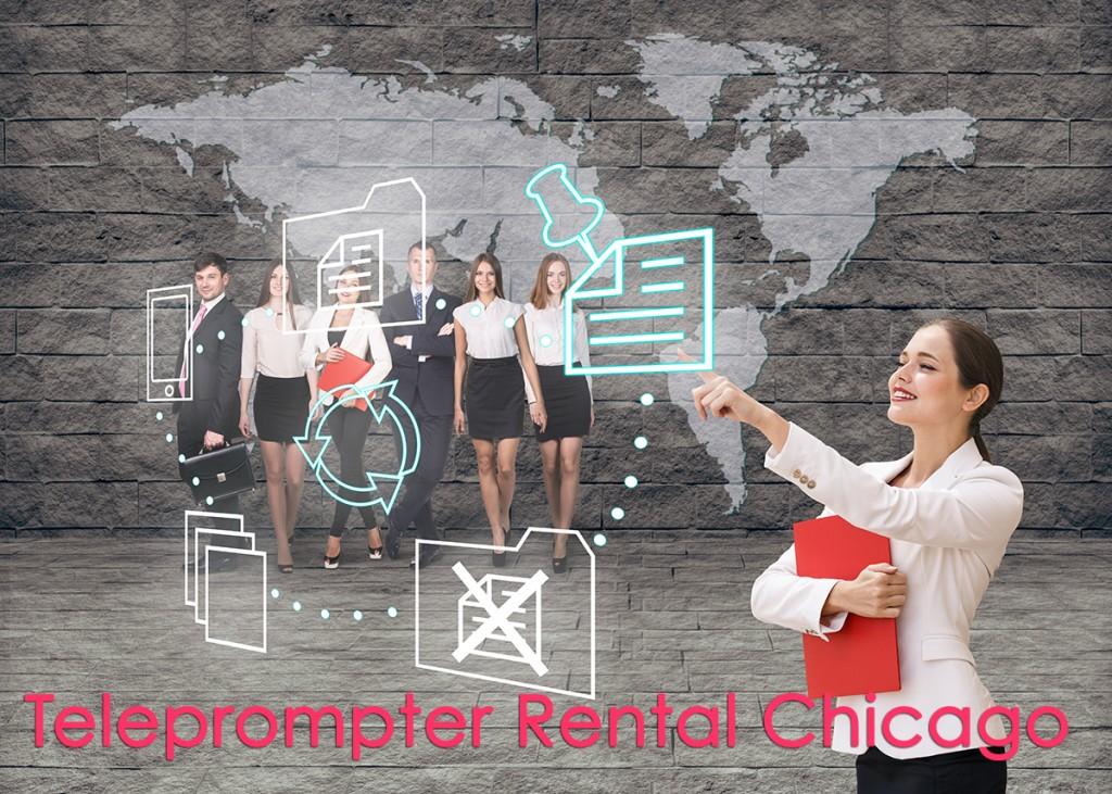 Teleprompter Rental Chicago at TeleprompterRental.com