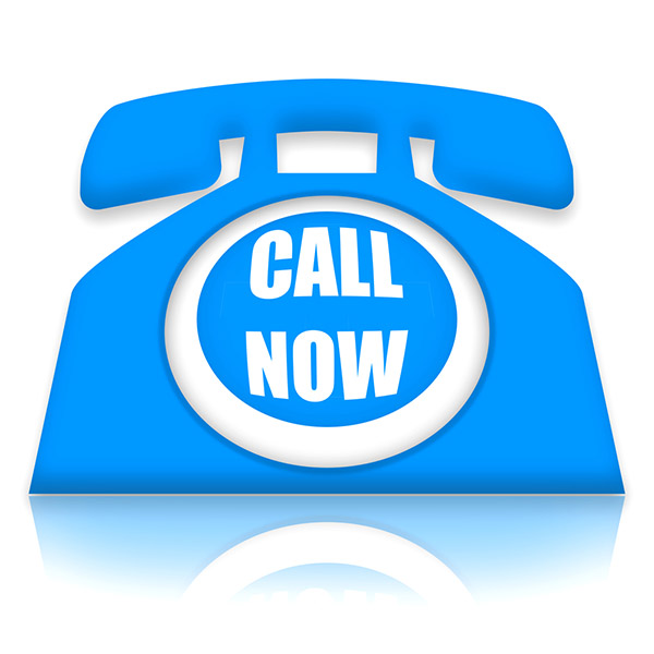 Logo Blue phone - Call Now
