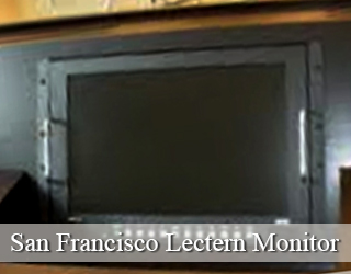 Lectern Monitor unit - San Francisco