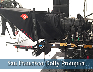 San Francisco Dolly Prompter unit