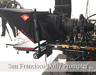 Dolly Prompter unit - San Francisco