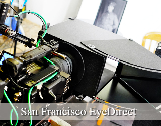 EyeDirect unit - San Francisco
