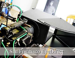 EyeDirect unit - San Francisco