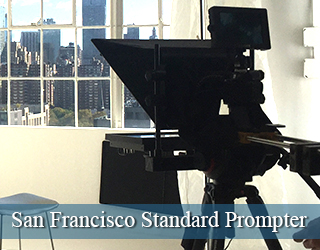 San Francisco Standard Prompter - window in background