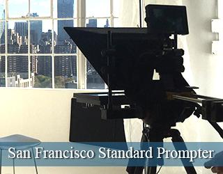 San Francisco Standard Prompter - window in background