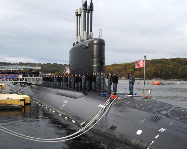 USS ILLINOIS SSN 786