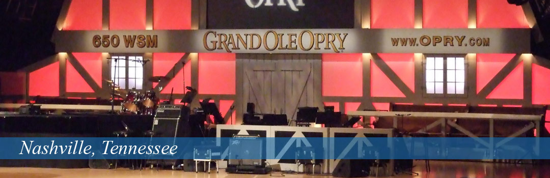 Nashville, Tennessee - Grand Ole Opry building