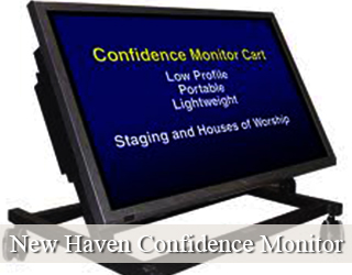 Confidence Monitor - copy on screen - New Haven