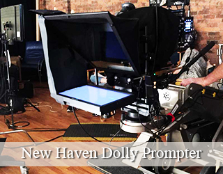 Wireless SteadiCam Teleprompter (AutoCue) & Jib/Slider Teleprompter - New Haven