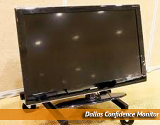 Confidence Monitor on floor - Dallas