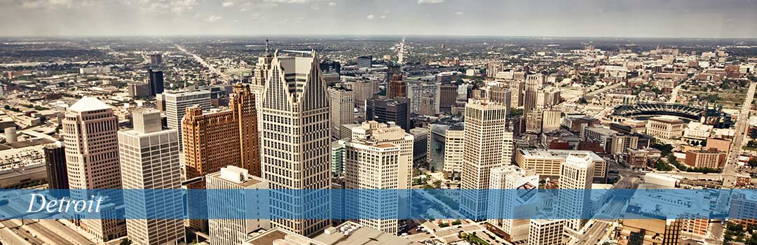 Detroit Skyline Day