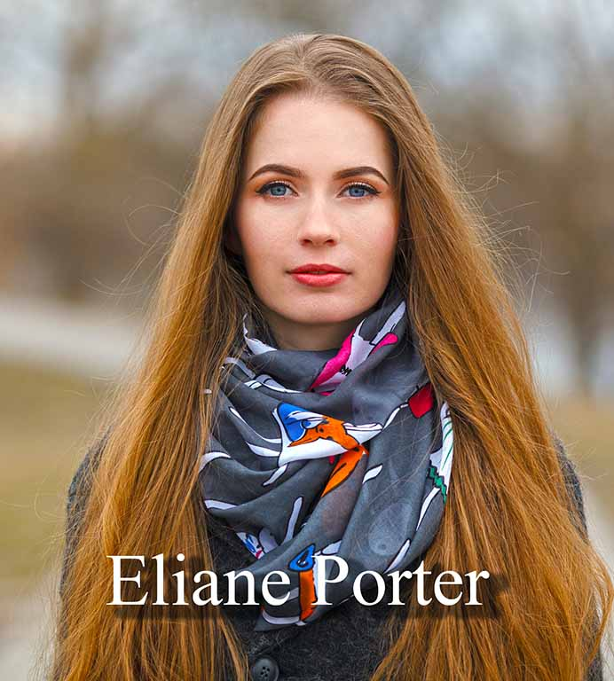 Eliane Porter - long red hair