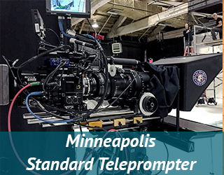 Through-the-lens Teleprompter - Standard Teleprompter - Minneapolis