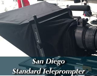 Standard Teleprompter unit - San Diego