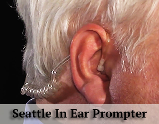 Ear close up - Ear Prompter - Seattle