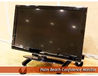 Confidence Monitor on the floor - Palm Beach