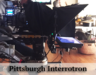 Interrotron unit on set - Pittsburgh