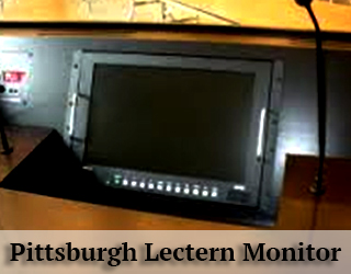 Lectern Monitor on podium - Pittsburgh